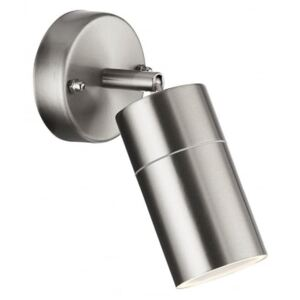 Searchlight 6411SS-LED One Light LED Outdoor Wall Light With Adjustable Arms In Stainless Steel
