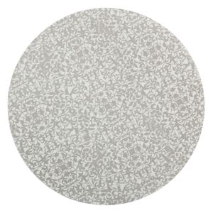 Monsoon Filigree Silver Round Placemats X4