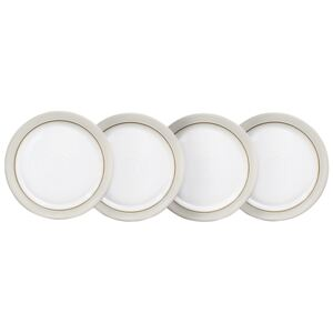 Natural Canvas Set Of 4 Dinner Plates