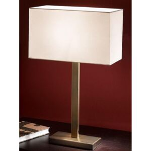 T876/9867 One Light Table Lamp With Bronze Finish