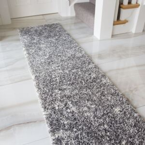 Silver Shaggy Rug for Living Room | Murano