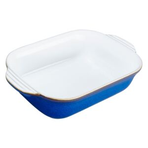 Imperial Blue Small Rectangular Oven Dish
