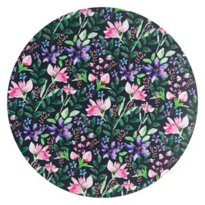 Denby Dark Floral Round Placemats Pack of 6