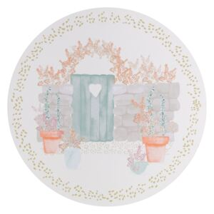 Denby Walled Garden Round Placemats Pack of 6