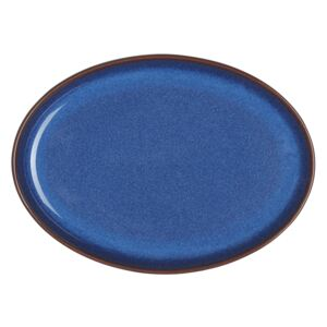 Imperial Blue Small Oval Tray Seconds