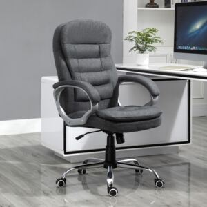 Office Chair Rock 360° Rolling Lumbar Support Adjustable Height Work