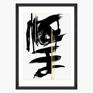 Gestural Abstraction 1 Print by Mind The Gap - Default Title