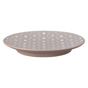 Impression Pink Hexagon Small Plate