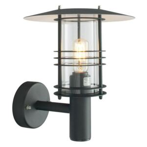 Norlys ST1 Galvanised Stockholm exterior wall lantern, IP54