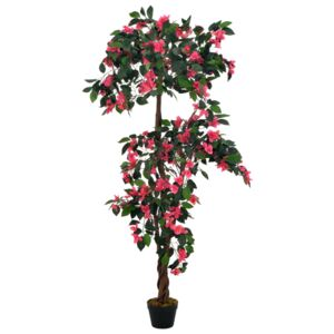 Artificial Plant Rhodondendron with Pot Pink 165 cm