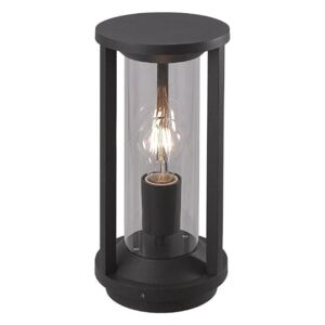 Cole 1 Light Exterior Post Light In Anthracite - Height: 350mm