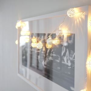 Silver Tangier Moroccan Fairy Lights