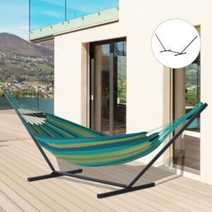 Outsunny 3.6m Extra-long Metal Hammock Stand Universal Fit Garden Camping Picnic