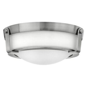HK/HATHAWAY/F/S N Hathaway 2 Light Small Flush Mount Ceiling Light In Antique Nickel