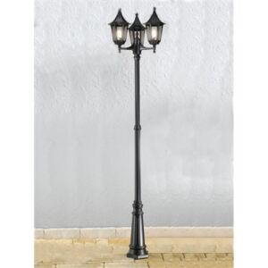 OUT6253-1 Boardwalk Exterior Triple Lamp Post, IP43