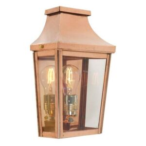 Norlys CS7/2 Chelsea Half Lantern Copper with Clear Lens