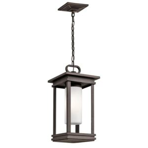 KL/SOUTH HOPE8/S South Hope1 Light Small Chain Lantern Ceiling Light In Rubbed Bronze