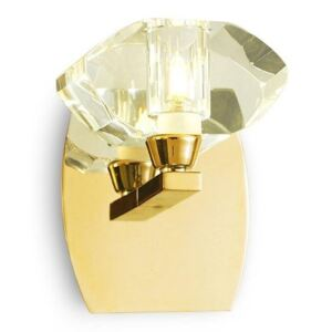 Mantra M0561FG/S Alfa 1 Light Switched Wall Light In French Gold