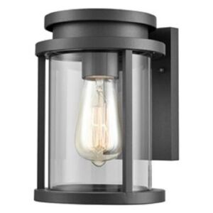 OUT6621 Exterior Outdoor Wall Lantern Light In Charcoal