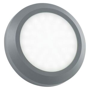 Saxby EL-40108 Severus Round Outdoor Guide Wall Light in Grey