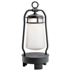 LED Portable Lantern with Bluetooth Speaker In Black