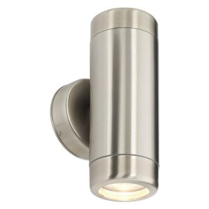 Saxby 14015 Atlantis Stainless Steel Outdoor Wall Light IP65