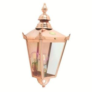 Norlys CS7 Chelsea Wall Lantern Copper with Clear Lens