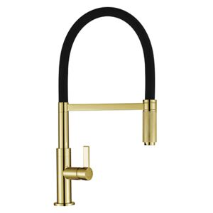 The 1810 Company SPI-KNR/06/GB Pull Out Tap - Gold