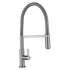 The 1810 Company SPI-SPR/02/BS Pull Out Tap - Brushed Steel