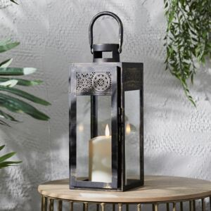 Nador Outdoor Moroccan Lantern with TruGlow® Candle