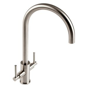 The 1810 Company CUR/02/BS Monobloc Tap - Brushed Steel