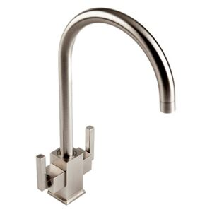 The 1810 Company RUS/02/BS Monobloc Tap - Brushed Steel