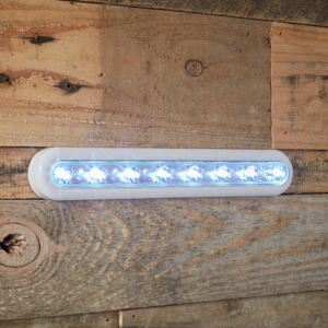 Supersized White Touch Operated Battery Cupboard Light