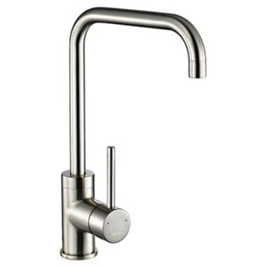 The 1810 Company CAS/02/BS Monobloc Tap - Brushed Steel