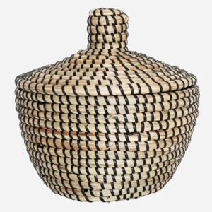 Seagrass Storage Basket by House Doctor - large