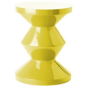 Zig Zag Stool - Stool/Low table - Exclusivity by Pols Potten Yellow