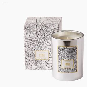 Victorian Paris Map Candle by On Interiors - Default Title