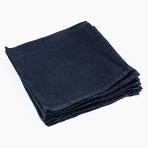 Black Linen Napkin - Trapani by On Interiors - Default Title