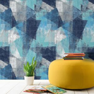 DUTCH WALLCOVERINGS Wallpaper Perspectives Blue
