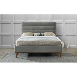 Time Living Mayfair Grey Fabric Bed Frame, Double
