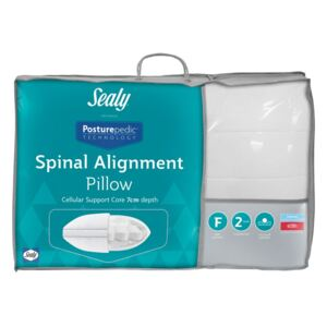 Sealy Posturepedic Spinal Alignment Pillow, Standard Pillow Size, Firmer Feel