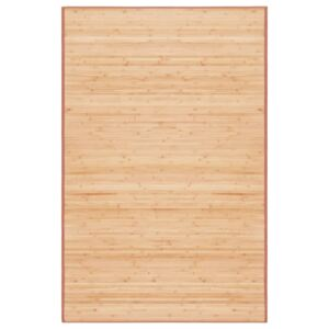 Rug Bamboo 100x160 cm Brown