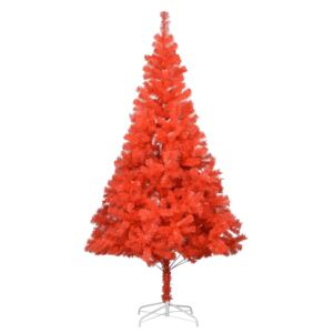 Artificial Christmas Tree with Stand Red 180 cm PVC
