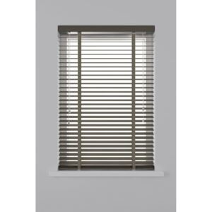 Decosol Horizontal Blinds Wood 50 mm 80x130 cm Taupe