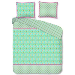 Happiness Duvet Cover ZOSIA 200x200/220 cm Lime Green