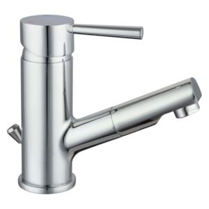 SCHÜTTE Basin Mixer with Pull-Out Spray CORNWALL