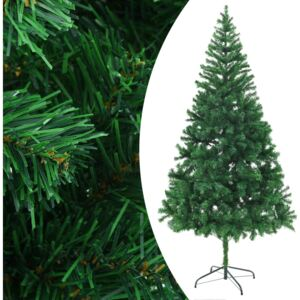 Artificial Christmas Tree with Steel Stand 210 cm 910 Branches