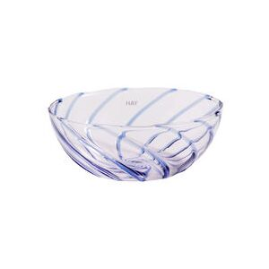 Spin Small dish - / Set of 2 - Glass by Hay White/Transparent
