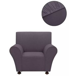 VidaXL Stretch Couch Slipcover Anthracite Polyester Jersey
