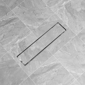 Linear Shower Drain 530x140 mm Stainless Steel